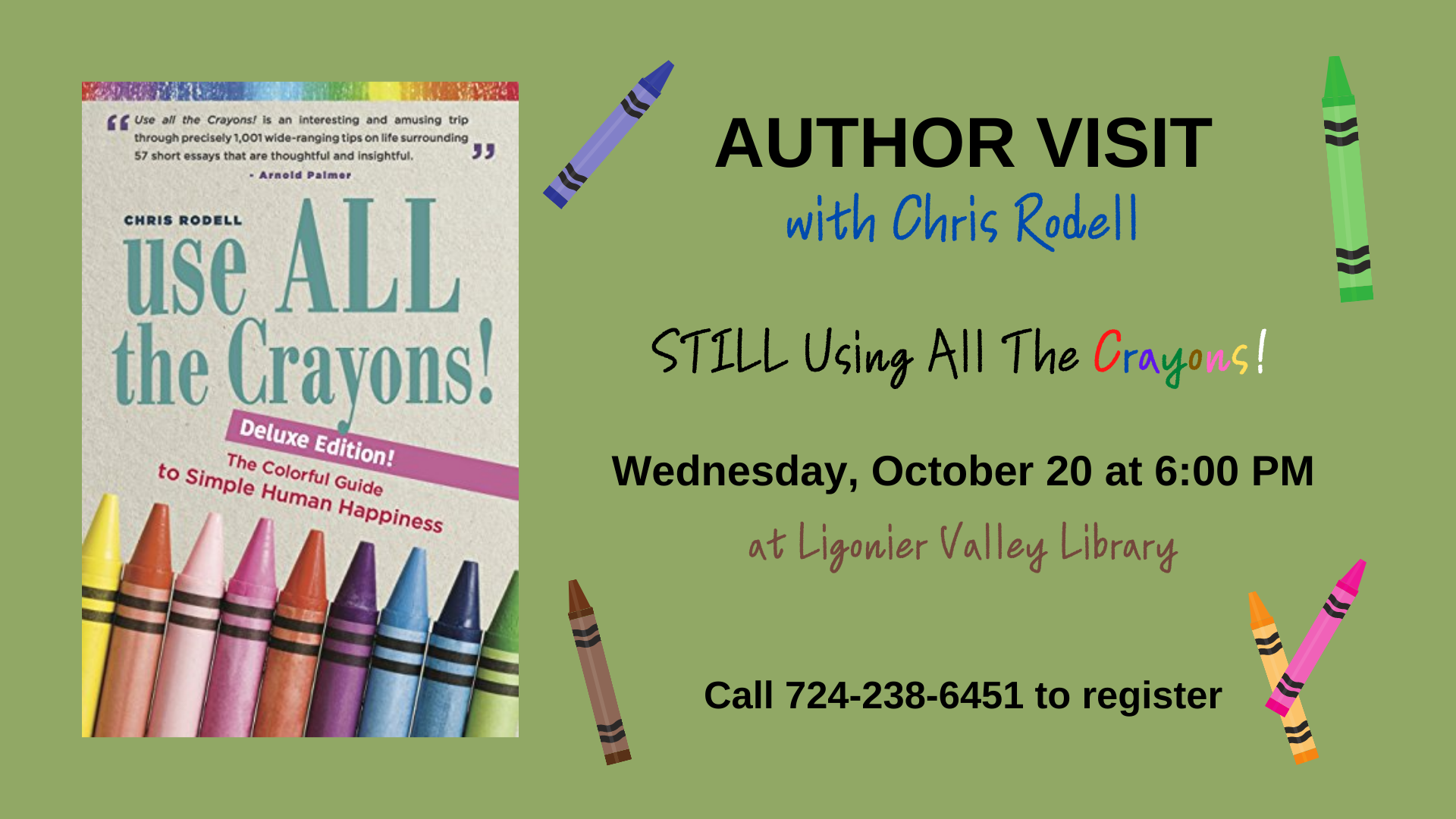 Author Visit with Chris Rodell