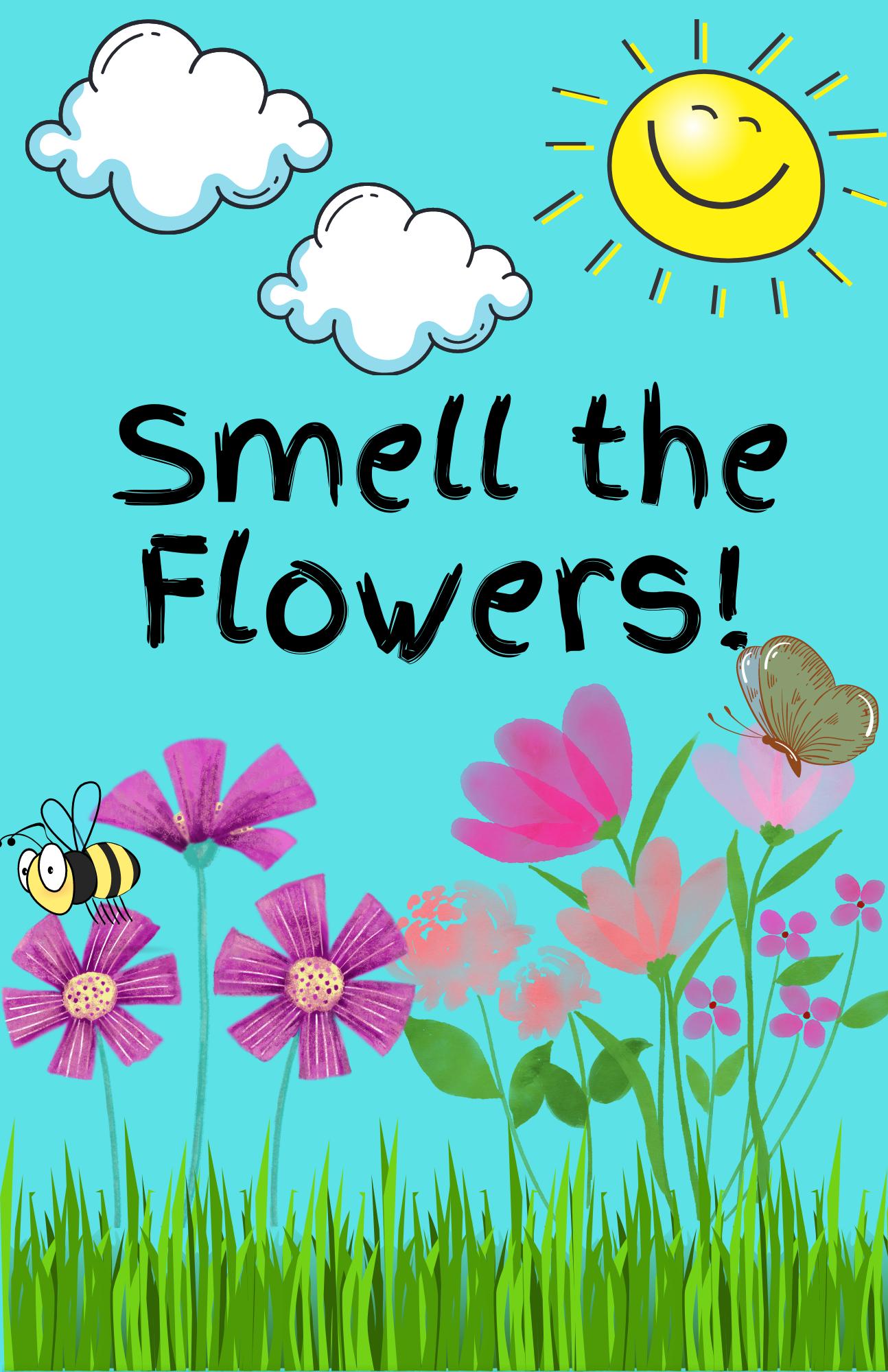 Facebook Live Preschool Storytime-Flowers