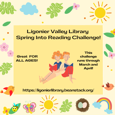 Spring Into Reading Beanstack Challenge