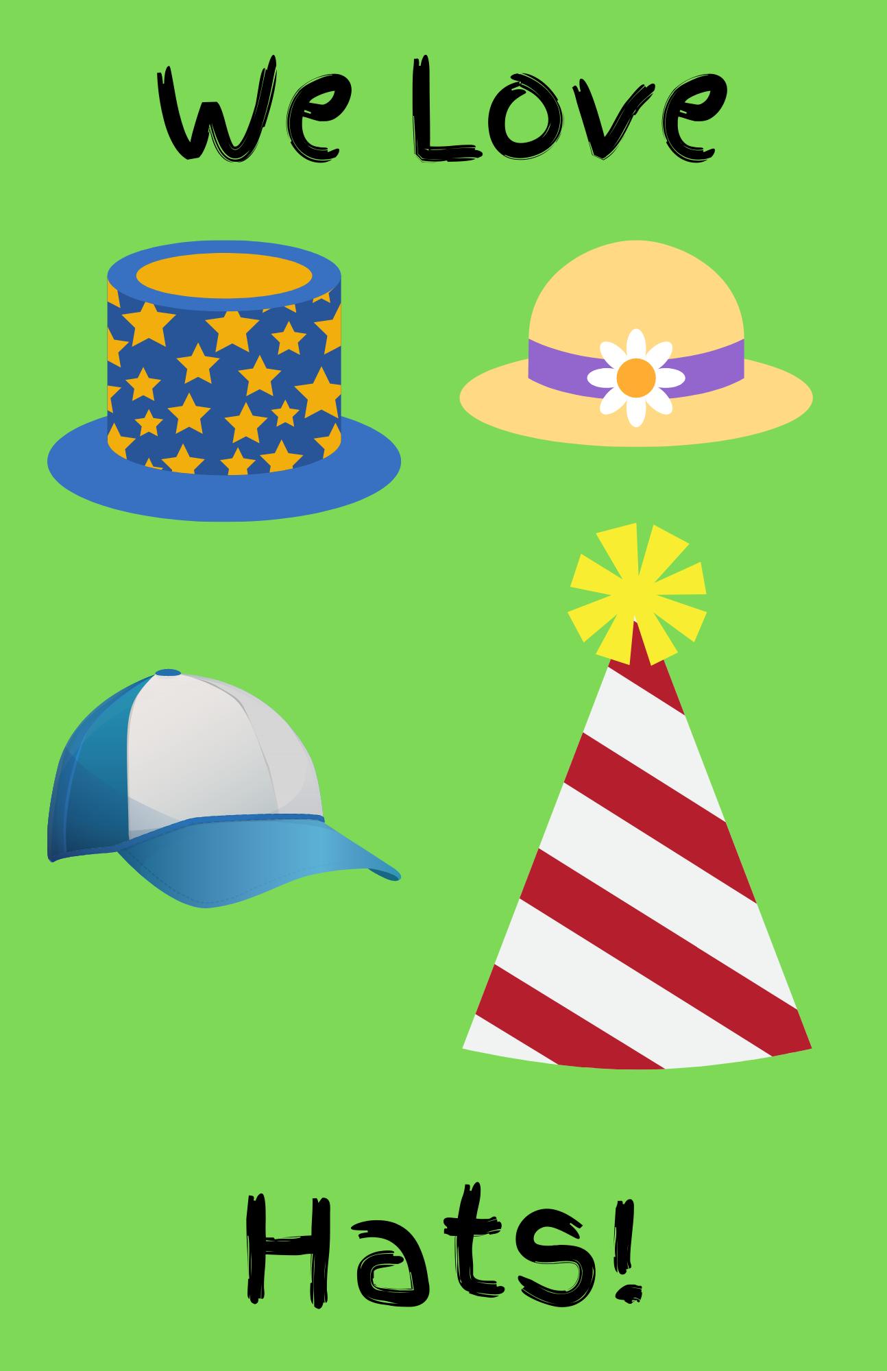 Facebook Live Preschool Storytime--Hats!